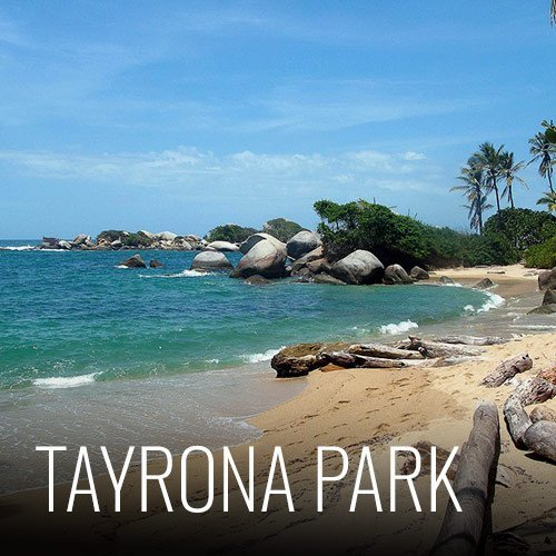 We are located just 15 minutes from the world-famous Tayrona National Park. You can choose to spend the day there and come back to the hostel or can stay overnight. We can store your bags at the hostel to make your trip easier. To buy park tickets you must go directly to the ticket office or buy them on the park's official website <a>http://www.parquesnacionales.gov.co</a>
