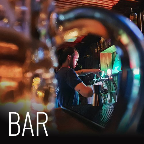 Our bar offers juices and smoothies prepared with fresh fruit grown locally. We have a list of cocktails made by our professionally trained staff and daily happy hours. Our bar offers our own locally produced, Surf Monkey beer on draft and various other national brands. Our bar closes at midnight.