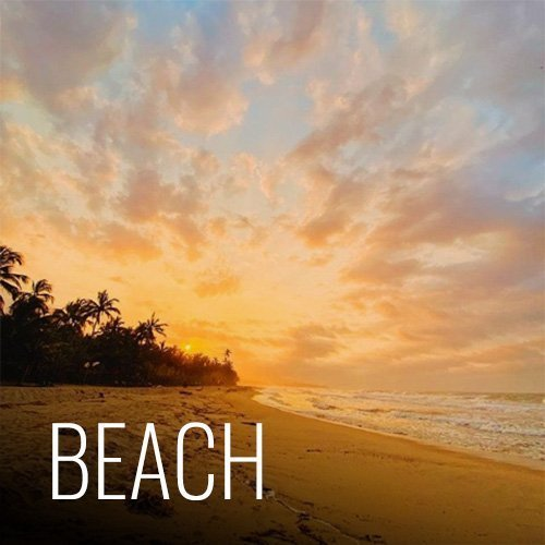 We are right on the beach! Kilometers of beach in both directions and very few people around make our hostel a very special spot. You can walk down the beach to a river mouth or relax and enjoy the picturesque sunsets from the beach area in front of the hostel.